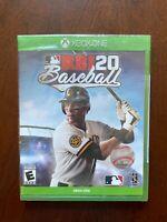 MLB RBI 20 Baseball Microsoft Xbox One Game - FACTORY SEALED