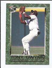 1992 FLEER ULTRA COMMEMORATIVE SERIES  TONY GWYNN #2