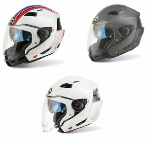 Bikeit Airoh Executive R-Modular Extra-wide vision Helmet For Motorcycle Bike