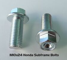 Pr. Honda CRF250R CRF450R Sub-frame Bolts 10.9 grade M10x24
