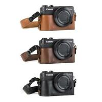 "MegaGear ""Ever Ready"" Leather Camera Case for Canon PowerShot G7 X Mark II"