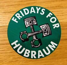 FRIDAYS FOR HUBRAUM Aufkleber Sticker Fuck You Umwelt Plakette CO2 Greta Mi386