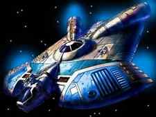 Ghtroc-720 Star Wars Fictional Spaceship Handcrafted Wood Model Regular
