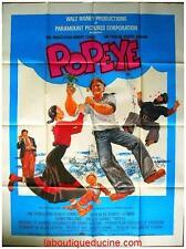 POPEYE Affiche Cinéma / Movie Poster WALT DISNEY ROBIN WILLIAMS