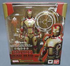 SH S.H. Figuarts Iron Man Mark 42 XLII MK-42 Iron Man 3 Bandai Japan NEW ***