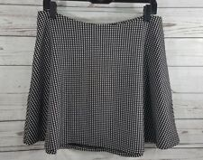 Banana Republic Skirt Size 10 A-Line Polka Dot Skirt Black And White Womens Used