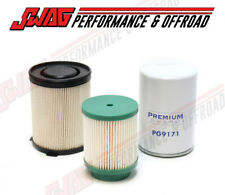 Premium Guard Oil & Fuel Filters For 16-18 Nissan 5.0L Cummins Diesel Titan XD