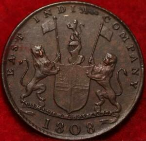 1808 British West Indies 10 Cash Foreign Coin