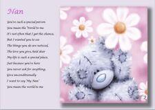 Scrabble Photo Personalused Mères Jour Cadeau Pour Mum Nan//Nounou ou Nanna