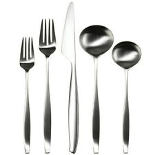 Modern Flatware Sets Kitchen Dining Tableware Stainless Steel Simple Elegance