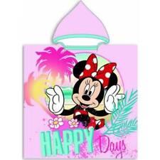 Minnie Disney, Sortie de bain, Poncho de bain Minnie Disney à capuche