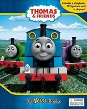 Thomas & Friends Busy Book Storybook 12 Figurines & a Playmat 2764330111