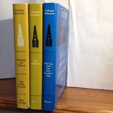Bücherpaket Tschingis Aitmatow 3x Abschied von Gülsary/Richtstatt/Der Tag zieht