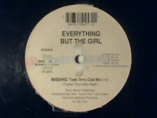"""EVERYTHING BUT THE GIRL Missing 12"""" ITALY TODD TERRY RARISSIMO VERY RARE!!!"""