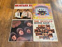Beatles Rough 4 LP Lot - VI, Magical Mystery Tour, Rubber Soul, Second Album