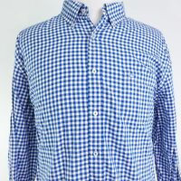 SOUTHERN TIDE CLASSIC FIT LONG SLEEVE GINGHAM CHECK BUTTON DOWN SHIRT MENS 2XL