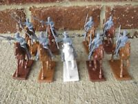 Civil War Cofenderate Cavalry Expeditionary Force 1/32 54MM Toy Soldiers