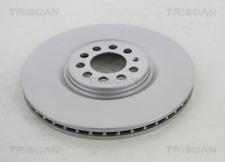 2x Bremsscheibe TRISCAN 812029162C vorne für AUDI SEAT SKODA VW