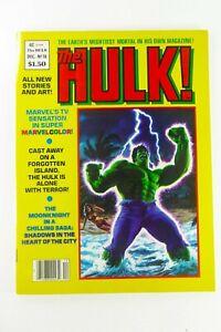 Marvel HULK Magazine (1979) #18 Key RANDALL SPECTOR VF (8.0) Ships FREE!