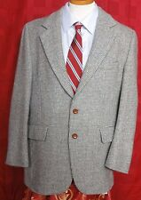 Men's Harris Tweed Multicolor Scottish Wool 2 Button Sport Coat Size 40R