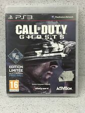 JEUX PS3 CALL OF DUTY GHOSTS EDITION LIMITEE AVEC NOTICE PLAYSTATION