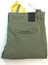 Rusty Olive Green Womens Skinny Leg Slouchy Rise Cargo Pants Size 10