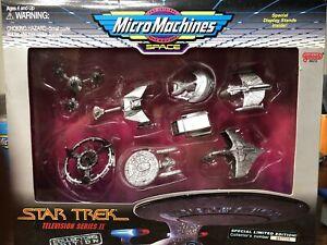Vintage Star Trek Micro Machines Television Series 2 Galoob Collectors Ed. R,1