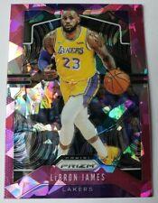 2019-2020 Panini Prizm Lebron James Pink Cracked Ice Prizm #129 Lakers