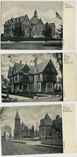 Lot of 3 Old Postcards - Scenes Around Fairhaven Mass