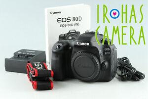 Canon EOS 80D Digital SLR Camera #35231 E3