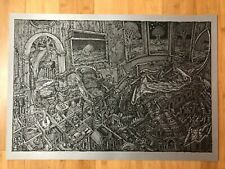 David Welker The Maze Silver Screen Varian Art Poster Screen Print Phish 240/250