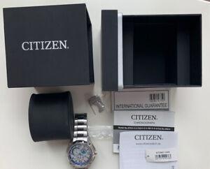 Citizen Eco-Drive Titanium GN-4W-S Sapphire Glass Marinaut H500 S063094 HST OVP