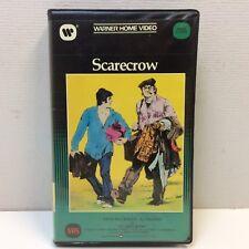 HTF RARE VINTAGE‼ Large Clamshell VHS NO UPC‼ Scarecrow • Al Pacino Gene Hackman