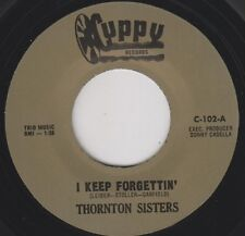 "THORNTON SISTERS I Keep Forgettin' CUPPY 7"" Re. 2 side 1965 Thumpin Mod R&B HEAR"