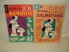 101 Dalmations Gold Key 1 + Dell Four 1183 SET Solid! Comics (s 9449)