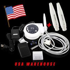 USA Dental Ultrasonic Piezo Scaler fit Satelec DTE + 2 Extra Handpieces tc0z