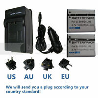 3.7V LI-50B BATTERY or Charger FOR OLYMPUS TG-820 iHS STYLUS Tough 6020 8000