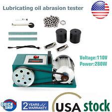 Lubricants Abrasion Testing Machine Anti Wear Lubricating Oil Abrasion Tester US