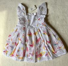 Baby Gap Baby Girl Butterfly Sun Dress 3-6 Months New With Tags