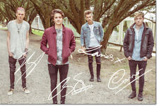 THE VAMPS PHOTO PRINT POSTER PRE SIGNED - 12 X 8 INCH (A4) - PREMIUM QUALITY