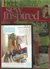 Sew Inspired Magazine Issue 4 With 3 Gifts Worth 29 Stylish Projects