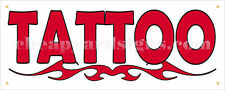 24 Tattoo Shop Sticker Retail Business Store Outdoor Vinyl Sign