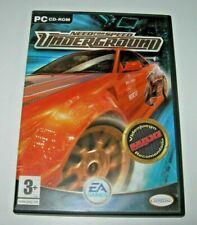 Need for Speed Underground PC (1ª edición española buen estado)