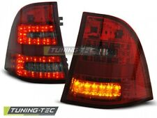 LED Taillights For MERCEDES W163 ML M-KLASA 03.98-05 RED SMOKE RED..