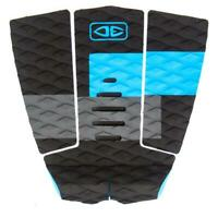 Ocean And Earth 3 Piece Traction Surfboard Grip Owen Wright Tail Pad Blue