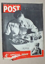 ANCIEN MAGAZINE - PICTURE POST - N° 5 VOL. 37 - 1 NOVEMBRE 1947 *