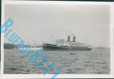 P&O Liner Viceroy Of India Stockholm Sweden 1939 Original 3.5 x 2.5 Inch Photo