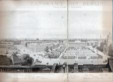 Berlin 1840 Faksimile Tagesspiegel - Panorama vom Kgl. Schlosse aus aufegommen
