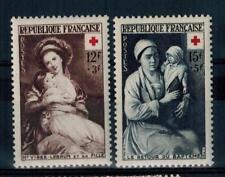 (a17)  timbres de France n° 966/967 neufs** année 1953