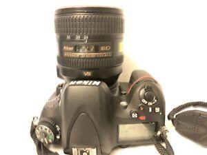 Nikon D600 DSLR FX ( Full Frame) 24.3 MP W/ 24-85mm ED Lens 18700 shutter count